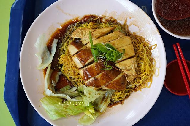 Upper Cross Street Soya Sauce Chicken Noodle Rice @ Tanjong Pagar Plaza Market & Food Centre 海山街油鸡面.饭