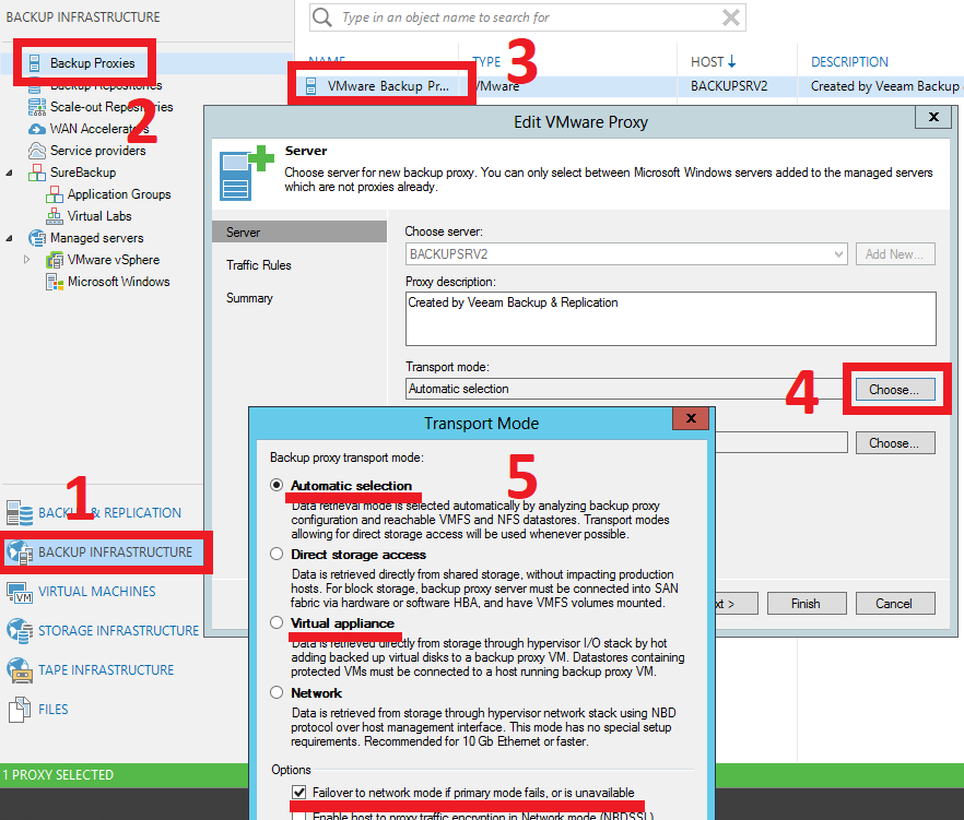 Veeam Backup: Hot-Add | SYSADMIT