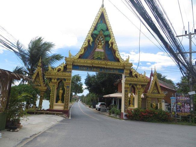 Ворота к храму к Биг Будде