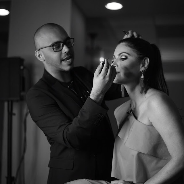 Roberto Ramos listo para presentar las últimas tendencias de maquillaje en un intensivo Master Class