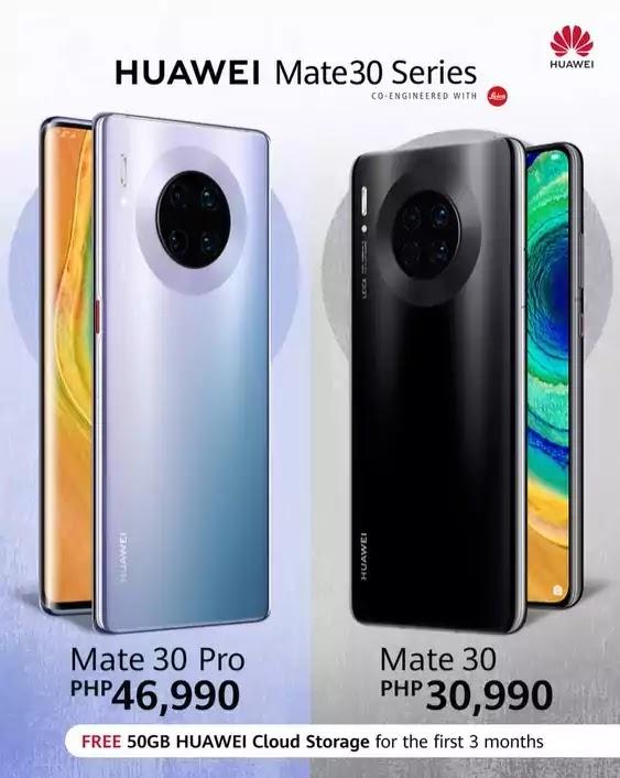 Huawei Mate 30 Pro and Mate 30 Price Drop