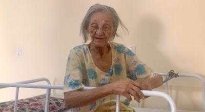 """Santanense que vivia no Ceará, """"Dona Vui"""" falece aos 115 anos"""