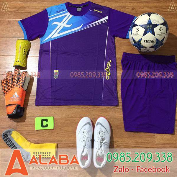 Áo bóng đá màu tím đẹp