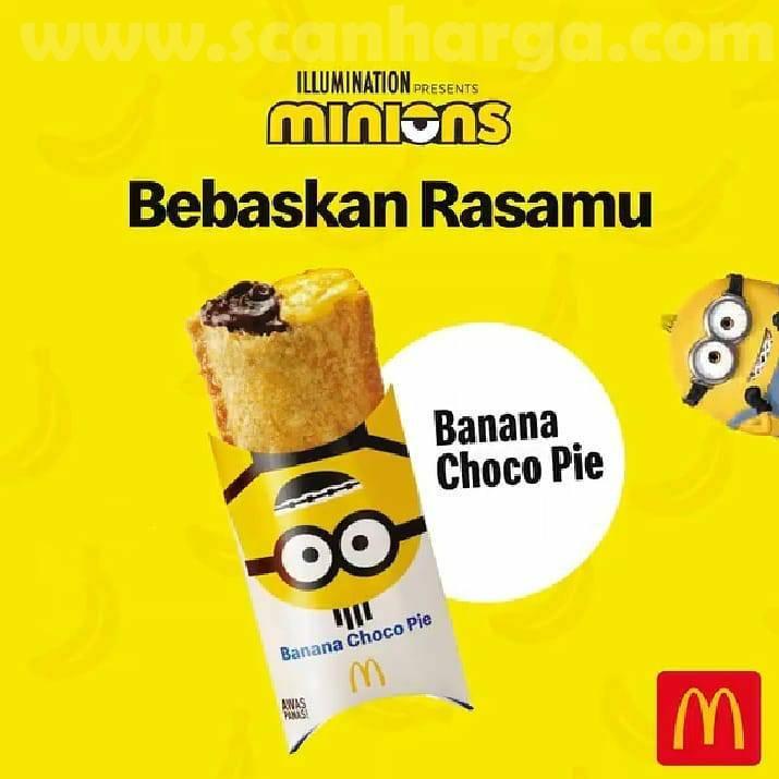 Harga McD Banana Choco Pie! Menu Terbaru dari McDonalds