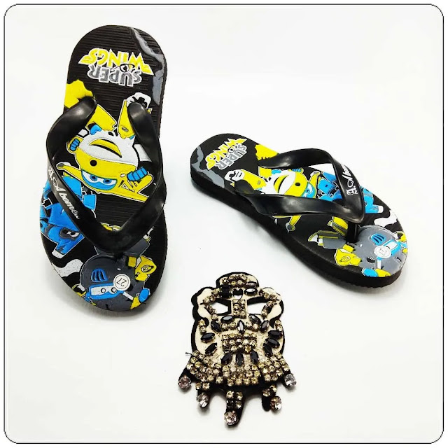 grosirsandalmurah.org-Sandal Anak-AMX Karakter Spon Anak