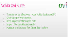 Nokia Ovi Suite Latest Version free Download for Windows 7, 8, 10
