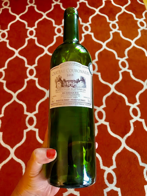 2015 Chateau Couronneau Bordeaux Superieur. Photo by Nicole Ruiz Hudson