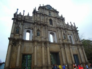 The Ruins of St. Paul's in Macau