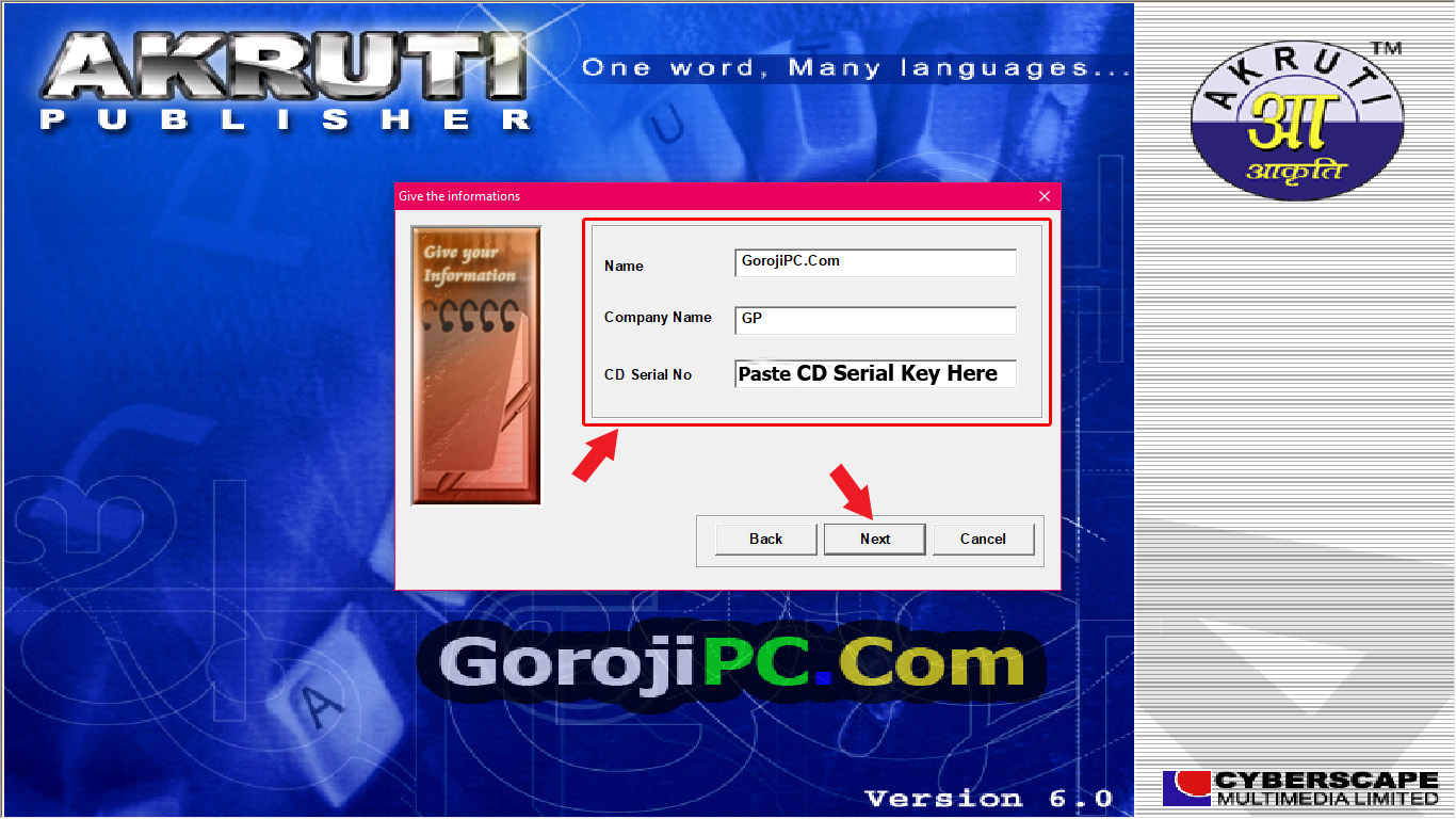 Akruti 6 0 full version with serial key No need crack,Patch,Keygen