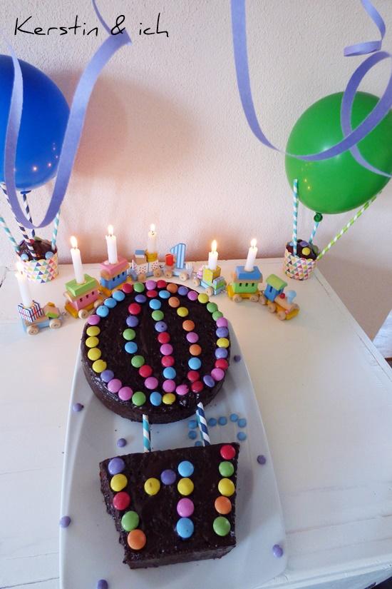 Kindergeburtstag Kuchen Selbergemacht Bunt