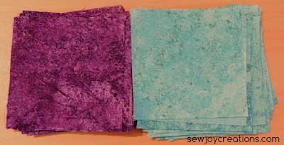 gradations brights squares