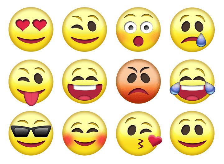 berbagai macam emoji