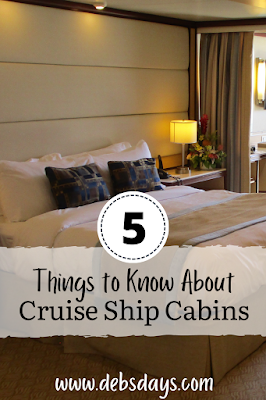 5 things to know about rooms on cruise ships