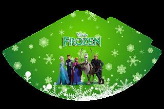 Gorros para imprimir gratis de Fiesta de Frozen Fever.