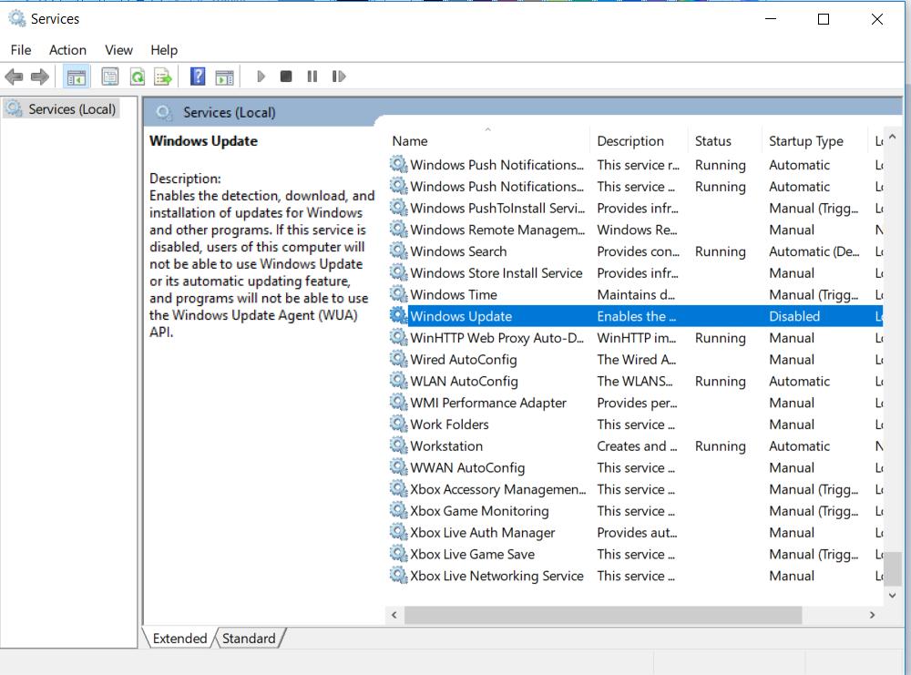 Cach Tat Cap Nhat Tren Windows 10