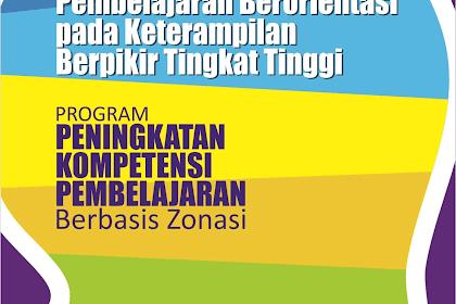 Buku Pegangan Pembelajaran Berorientasi HOTS Kemedikbud 2018