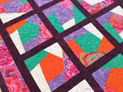 Pat's Crazy Patchwork Quilt