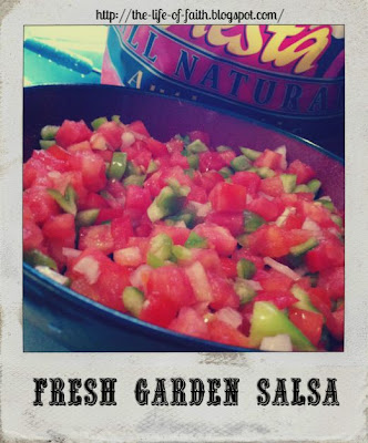 Fresh Garden Salsa Recipe