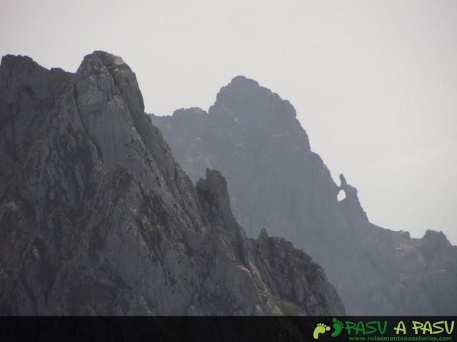 Ojo de buey en Picos de Europa