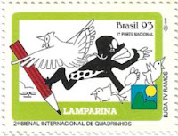 Selo Personagem Lamparina