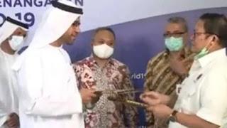 Arab Sumbang 20 Ton Alat Medis untuk Indonesia Tangani Corona