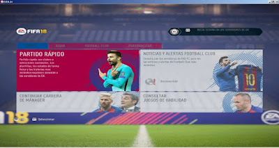 FIFA 14 FC Barcelona Graphic Themes 17/18 by DerArzt26