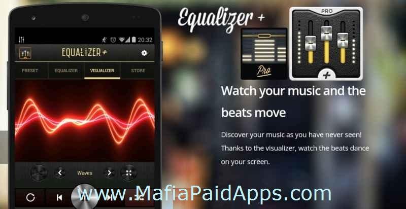 equalizer + pro (music player) v0.10 apk