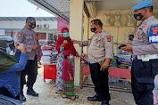 Polsek Cisoka Gelar Operasi Yustisi dan Gebrak Masker di Pasar Tradisional