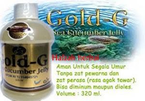 Jelly gamat gold g asli murah di hafzah herbal
