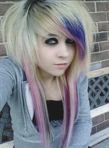 Phenomenal Blonde Emo Hairstyles Short Hairstyles Gunalazisus