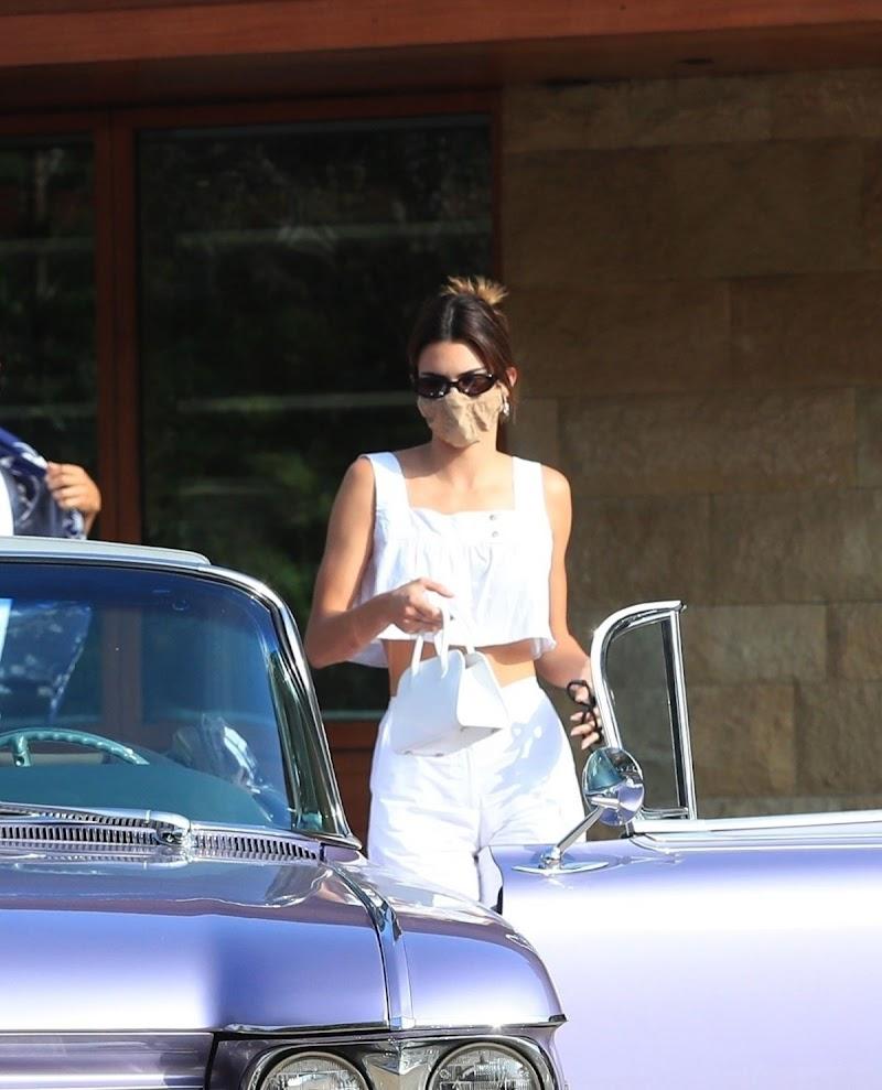 Kendall Jenner Leaves Soho House in Malibu 2 Aug -2020