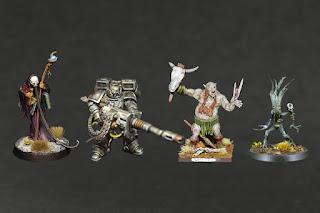 Octren Glimscry, Suppressor, Ogr, Waldgeist