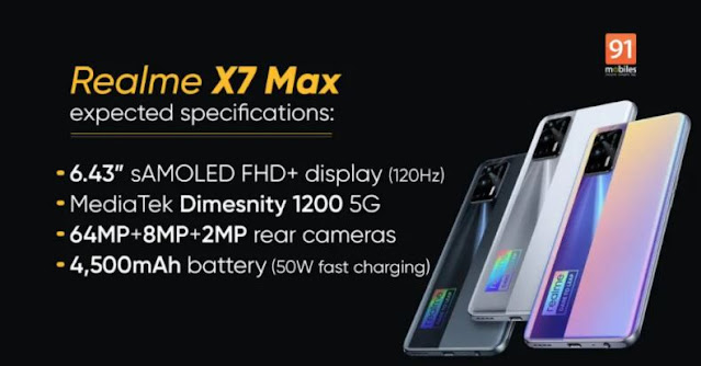Realme X7 Max 5G: crazy performance for India