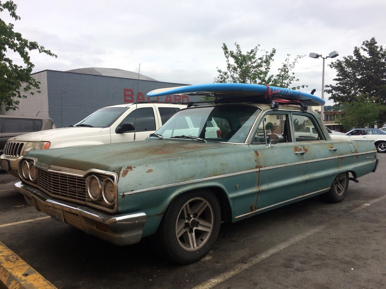 Seattle S Classics 1964 Chevrolet Bel Air Sedan