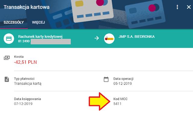 Jak sprawdzić kod MCC w bankowości internetowej T-Mobile Usługi Bankowe
