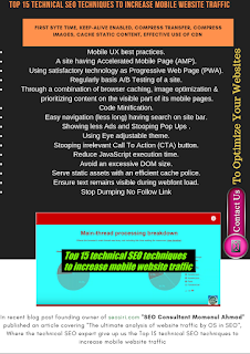 "<img source=""pic.png"" alt=""Top 15 technical SEO techniques to increase mobile website traffic.""</img>."