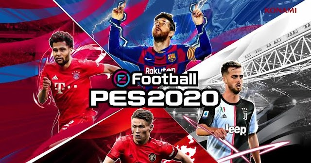 Download Efootball Pes 2020 Mobile V4.5.0 [Apk + Obb]