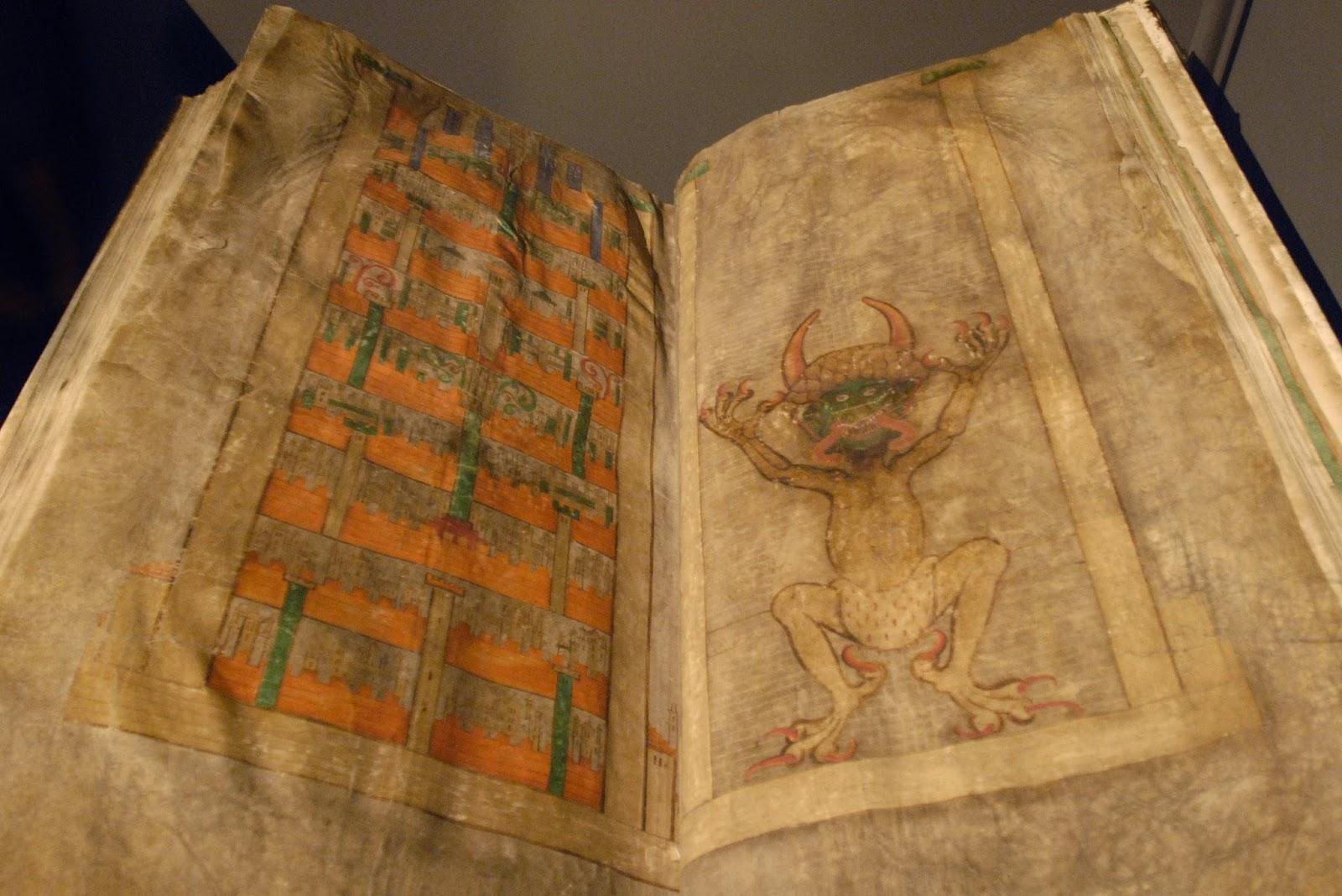 Araceli Rego, de lo humano a lo divino: CODEX GIGAS O BIBLIA DEL DIABLO