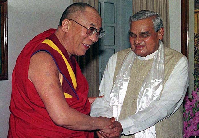 Dalai Lama hails Vajpayee's eloquent support to Tibetan people