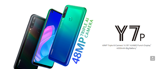 Huawei y7p price features,specifications