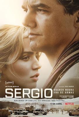 SERGIO  Novo filme Netflix com Wagner Moura e Ana de Armas