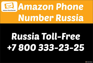 Amazon Phone Number Russia (Toll Free)