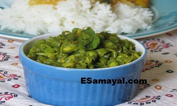 சரவணபவன் பீன்ஸ் பொரியல் செய்வது   Saravanapavan beans fries Recipe !