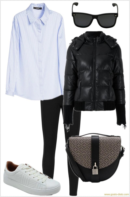Como usar legging como uma fashionista