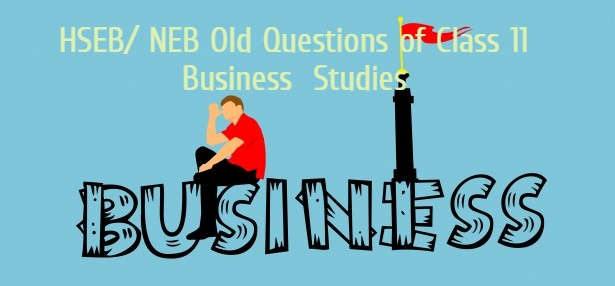 Introduction of Business Old Questions