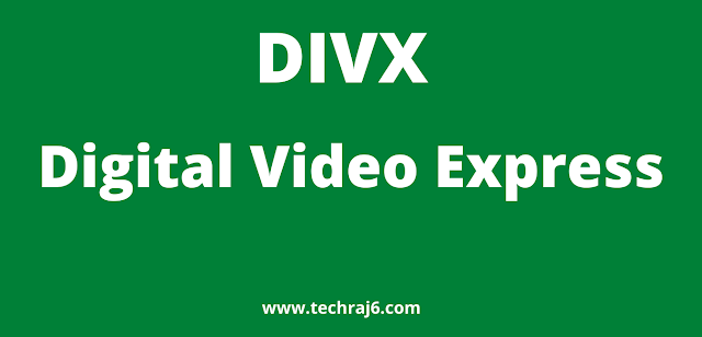 DIVX full form, what is the full form of DIVX