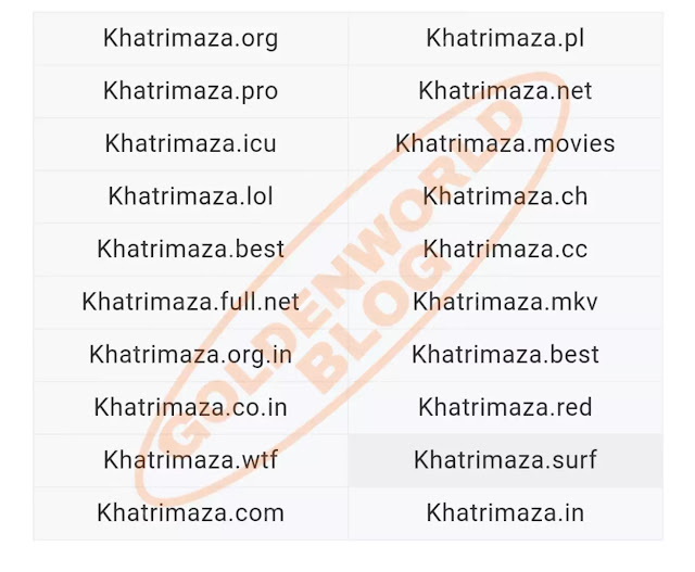 Khatrimaza 2020 - Bollywood Movies, Khatrimaza Pro, MKV Movies | GoldenWorldBlog.in