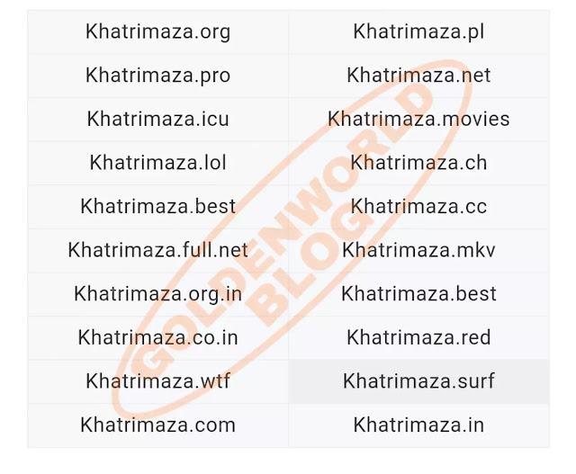 Khatrimaza 2020 - Bollywood Movies, Khatrimaza Pro, MKV Movies | GoldenWorldBlog.in