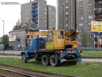 Praga V3S dźwig AD-080