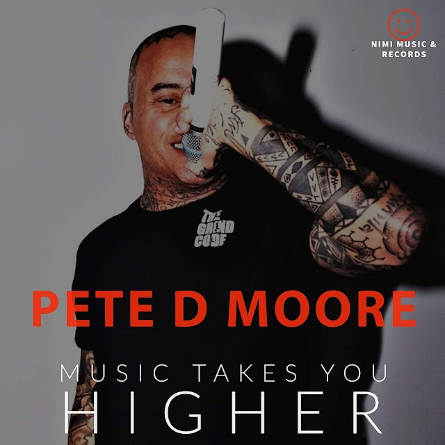 Pete D Moore released new version of Music Takes You Higher